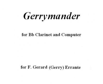 Gerrymander Portfolio