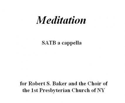 Meditation Portfolio